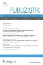 Publizistik 2/2016