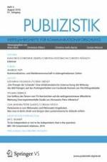 Publizistik 3/2016