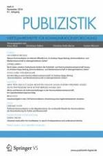 Publizistik 4/2016