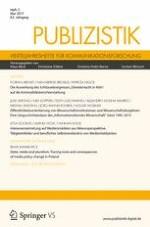 Publizistik 2/2017