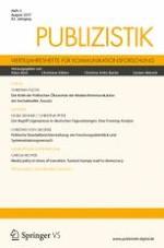 Publizistik 3/2017