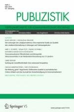 Publizistik 2/2018