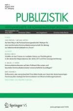 Publizistik 3/2018