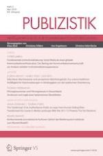 Publizistik 2/2019