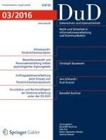 Datenschutz und Datensicherheit - DuD 8/2007