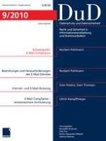 Datenschutz und Datensicherheit - DuD 9/2010