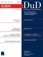 Datenschutz und Datensicherheit - DuD 3/2011