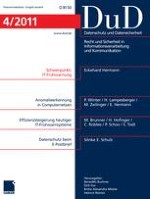 Datenschutz und Datensicherheit - DuD 4/2011