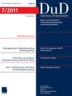 Datenschutz und Datensicherheit - DuD 7/2011