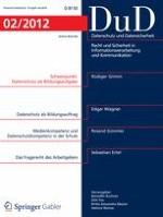 Datenschutz und Datensicherheit - DuD 2/2012