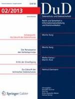 Datenschutz und Datensicherheit - DuD 2/2013