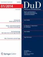 Datenschutz und Datensicherheit - DuD 1/2014