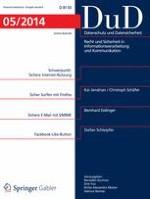 Datenschutz und Datensicherheit - DuD 5/2014