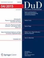 Datenschutz und Datensicherheit - DuD 4/2015