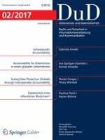 Datenschutz und Datensicherheit - DuD 2/2017