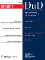 Datenschutz und Datensicherheit - DuD 3/2017