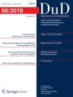 Datenschutz und Datensicherheit - DuD 6/2018