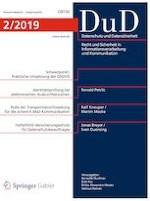 Datenschutz und Datensicherheit - DuD 2/2019