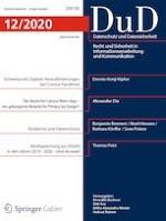 Datenschutz und Datensicherheit - DuD 12/2020