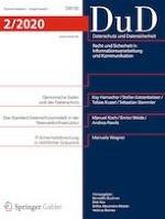 Datenschutz und Datensicherheit - DuD 2/2020