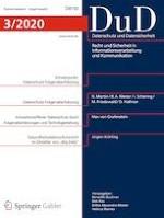 Datenschutz und Datensicherheit - DuD 3/2020