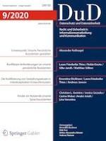 Datenschutz und Datensicherheit - DuD 9/2020
