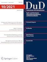 Datenschutz und Datensicherheit - DuD 10/2021