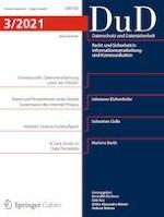 Datenschutz und Datensicherheit - DuD 3/2021
