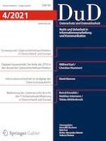 Datenschutz und Datensicherheit - DuD 4/2021