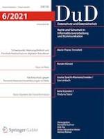 Datenschutz und Datensicherheit - DuD 6/2021