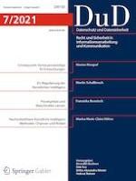 Datenschutz und Datensicherheit - DuD 7/2021