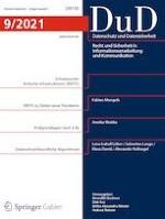 Datenschutz und Datensicherheit - DuD 9/2021