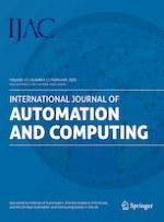 International Journal of Automation and Computing 1/2020