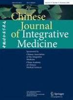 Chinese Journal of Integrative Medicine 4/2008