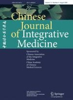 Chinese Journal of Integrative Medicine 4/2009