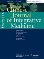 Chinese Journal of Integrative Medicine 2/2013