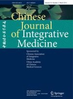 Chinese Journal of Integrative Medicine 3/2013