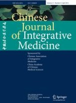 Chinese Journal of Integrative Medicine 4/2015