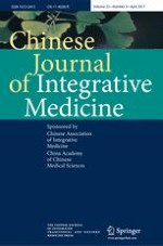 Chinese Journal of Integrative Medicine 4/2017