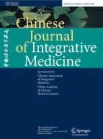 Chinese Journal of Integrative Medicine 3/2018