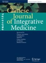 Chinese Journal of Integrative Medicine 4/2018