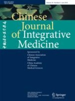 Chinese Journal of Integrative Medicine 6/2018