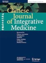 Chinese Journal of Integrative Medicine 10/2019