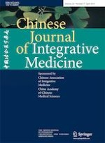 Chinese Journal of Integrative Medicine 4/2019