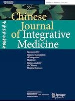 Chinese Journal of Integrative Medicine 6/2019