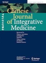 Chinese Journal of Integrative Medicine 9/2019