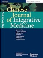 Chinese Journal of Integrative Medicine 1/2021