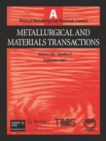 Metallurgical and Materials Transactions A 9/2007
