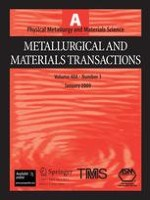 Metallurgical and Materials Transactions A 1/2009