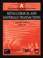 Metallurgical and Materials Transactions A 10/2009